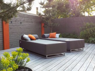 outdoor bed